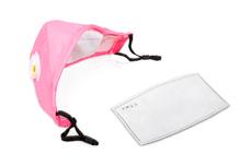 Jolifin Lashes - Mundschutz mit Filter - rosa