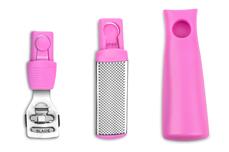 Jolifin Multi Hornhaut Set inkl. 3 Klingen - pink