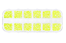 Jolifin LAVENI Strass-Display XL - neon-yellow