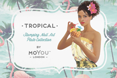 MoYou-London Schablone Tropical Collection 25