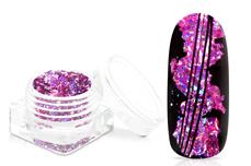 Jolifin Foil Flakes - Hologramm purple