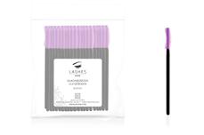 Jolifin Lashes - Silikonbürsten lila gebogen - 50 Stück