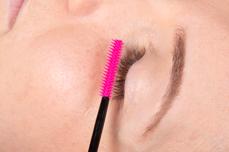 Jolifin Lashes - Silikonbürsten pink gerade - 10 Stück