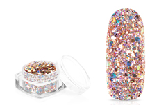 Jolifin Mermaid Party Glitter - rosy champagne