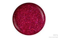 Jolifin LAVENI Shellac - cherry Glitter 12ml