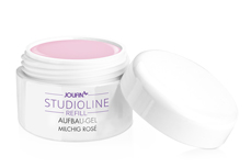 Jolifin Studioline Refill - Aufbau-Gel milchig rosé 30ml
