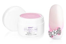 Jolifin Studioline Refill - Aufbau-Gel milchig rosé Glimmer 250ml