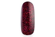 Jolifin LAVENI Shellac - black cherry Glitter 12ml