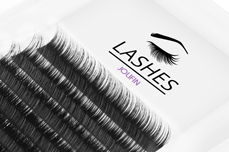 Jolifin Lashes - EasyFan - SingleBox 8mm C-Curl 0,07