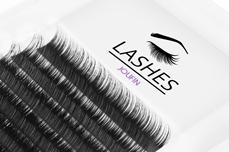 Jolifin Lashes - EasyFan - SingleBox 9mm C-Curl 0,07