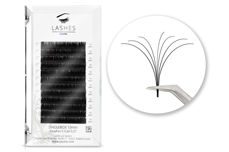 Jolifin Lashes - EasyFan - SingleBox 10mm C-Curl 0,07