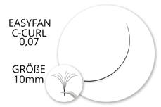 Jolifin Lashes - EasyFan - SingleBox 10mm C-Curl 0,07