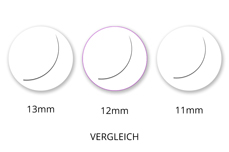 Jolifin Lashes - EasyFan - SingleBox 12mm C-Curl 0,07