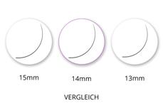 Jolifin Lashes - EasyFan - SingleBox 14mm C-Curl 0,07