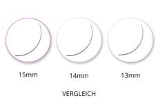 Jolifin Lashes - EasyFan - SingleBox 15mm C-Curl 0,07