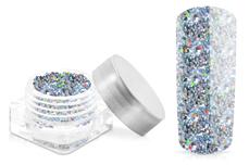 Jolifin Glitter Pailletten klein silber