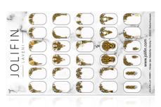 Jolifin LAVENI PRO Handmade Strass-Slider - XL gold 2