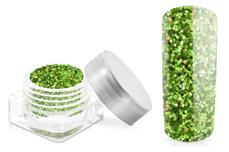Jolifin Glitter Pailletten klein grün