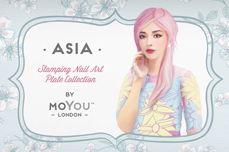 MoYou-London Schablone Asia Collection 09