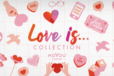 MoYou-London Schablone Love is Collection 04