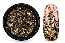 Jolifin Soft Foil Flakes - black-champagne