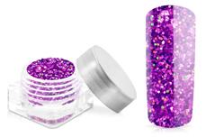 Jolifin Glitter Pailletten klein pink