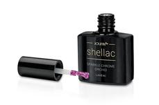 Jolifin LAVENI Shellac - sparkle chrome orchid 12ml