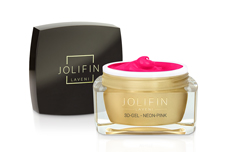 Jolifin LAVENI 3D-Gel - neon-pink 5ml