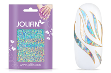 Jolifin Aurora Sticker - Waves silver Galaxy