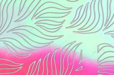 Jolifin Aurora Sticker - Waves babypink