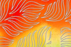Jolifin Aurora Sticker - Waves sunset