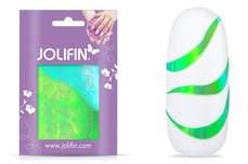 Jolifin Aurora Sticker - Waves tropical green
