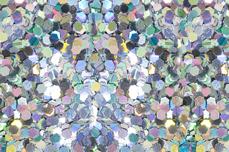 Jolifin Glitter Pailletten groß silber