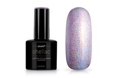 Jolifin LAVENI Shellac - unicorn hologramm lavender 12ml