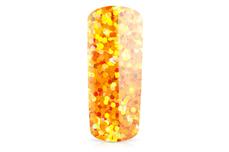 Jolifin Glitter Pailletten groß orange