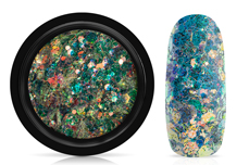 Jolifin LAVENI Mermaid Glitter - petrol forest