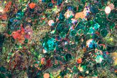 Jolifin LAVENI Mermaid Glitter - petrol forest