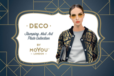 MoYou-London Schablone Deco Collection 01