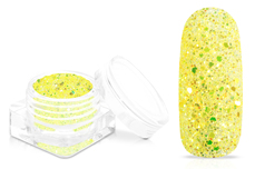 Jolifin Shiny Glitter - fresh lemon