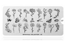 MoYou-London Schablone Botanical Collection - 07