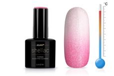 Jolifin LAVENI Shellac - Thermo nude-pink Glimmer 12ml
