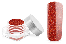 Jolifin Glitterpuder rot