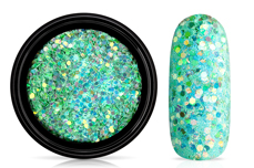 Jolifin LAVENI Mermaid Pastell Glitter - green
