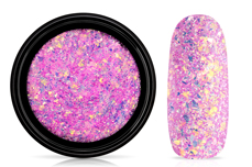 Jolifin LAVENI Mermaid Flakes Glitter - purple