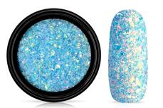 Jolifin LAVENI Mermaid Flakes Glitter - türkis