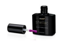 Jolifin LAVENI Shellac - velvet purple-berry 12ml