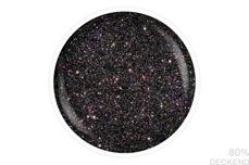 Jolifin LAVENI Shellac PeelOff - black hologramm Glitter 12ml