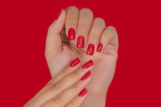 Jolifin LAVENI Shellac PeelOff - luminous red 12ml