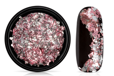 Jolifin Soft Foil Flakes - rose-silver