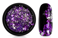 Jolifin Soft Foil Flakes - purple-silver